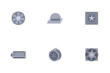 Electric Fans Icon Pack