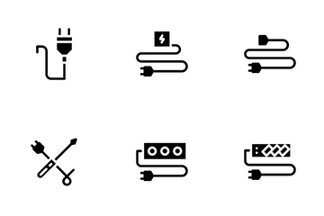 Electrician Icon Pack