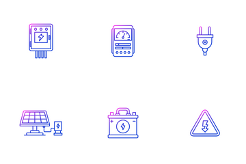 Electrician Tool Icon Pack