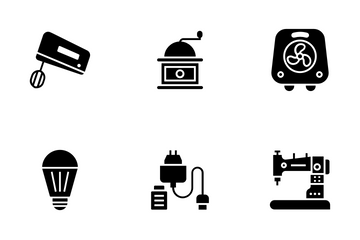 Electronic And Appliances Icon Pack