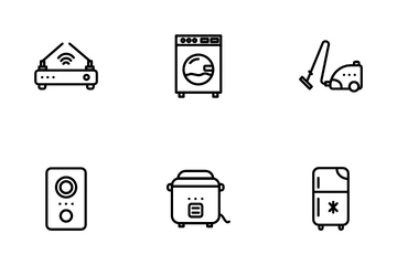 Electronic And Tecnology Icon Pack
