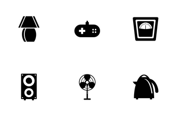 Electronic & Appliances Icon Pack