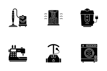 Electronic Appliances Icon Pack
