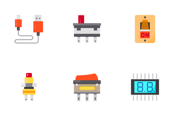 Electronic Component Icon Pack