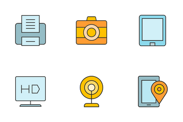Electronic Device Icon Pack