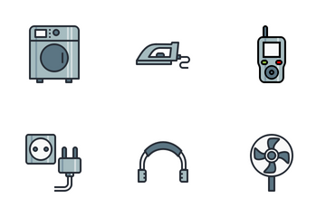 Electronic Devices Icon Pack