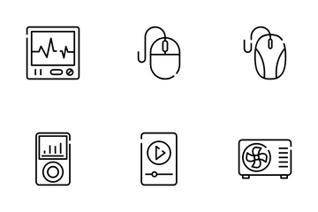 Electronics And Appliances Icon Pack