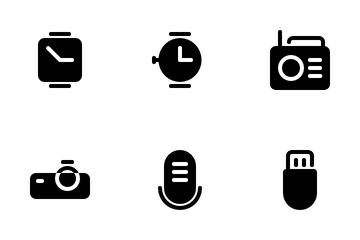 Electronics And Device Icon Pack