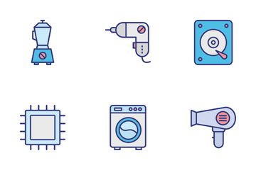 Electronics And Devicesc Icon Pack