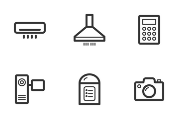Electronics & Appliances Icon Pack