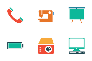 Electronics Colored Icons Icon Pack