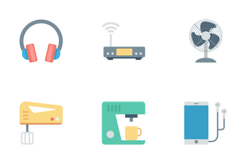 Electronics Devices Icon Pack