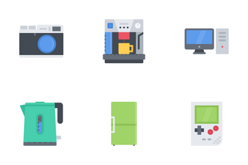 Electronics Flat Icon Pack