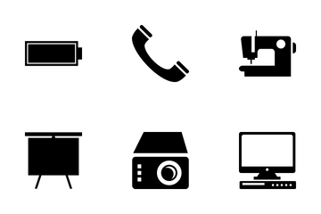 Electronics Vector Icons Icon Pack