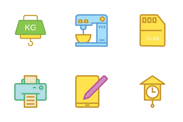 Electronics Vol 3 Icon Pack