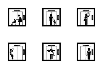 Elevator Icon Pack