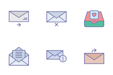 Email And Messaging Icon Pack
