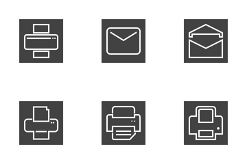Email And Printers Icon Pack