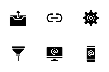 Email Console Icon Pack