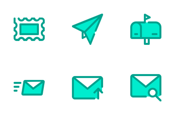 Email Duo Tone Icon Pack