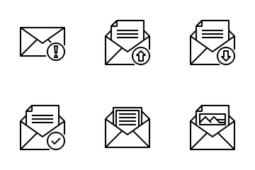 Email Element Icon Pack
