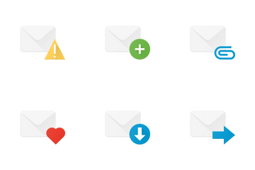 Email & Inbox Actions Icon Pack