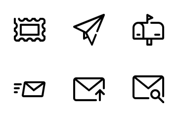 Email Line Icon Pack