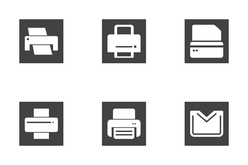 Email & Printers Icon Pack
