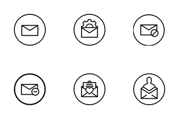 Email Services Icon Pack