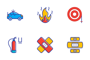 Emergencies Icon Pack