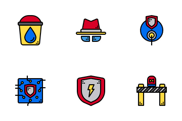 Emergency Rescue Icon Pack