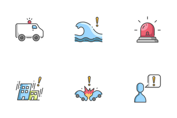 Emergency Situations Icon Pack