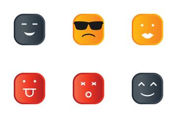 Emoji Flat Icon Pack