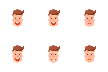 Emoji Man 2 Icon Pack