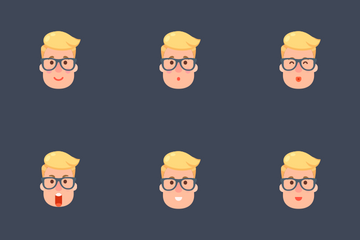 Emoji Man 3 Icon Pack
