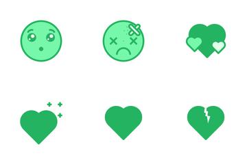 Emoji - Mono Lineal Icon Pack