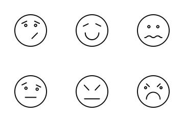 Emoticon Or Emoji Icon Pack