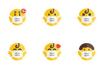 Emoticon With Expression Icon Pack