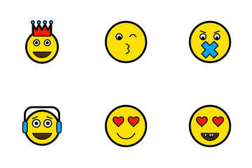 Emoticons-3 Icon Pack