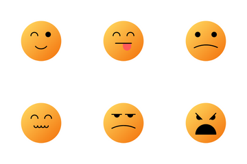 Face Emoticons Icon Pack
