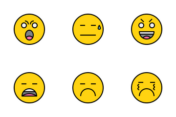 Emotion And Emoji Icon Pack