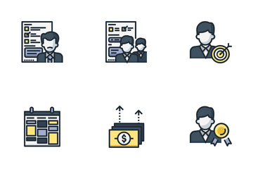 Employee Appraisal Icon Pack