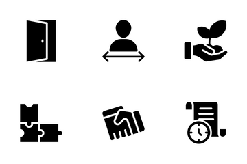 Employee Management Icon Pack