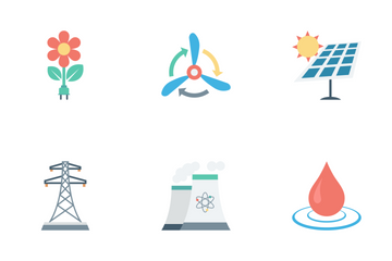 Energy And Power Icon Pack