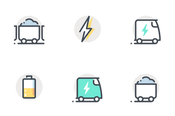 Energy - App Background Icon Pack