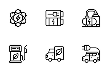Energy Conservation Icon Pack