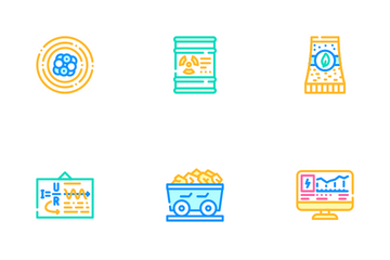 Energy Manufacturing Icon Pack
