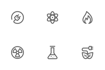 Energy & Power Icon Pack