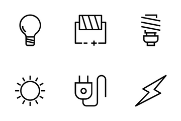 Energy Vector Icons Icon Pack