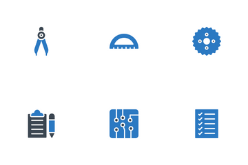 Engineering And Geodesy Icon Pack
